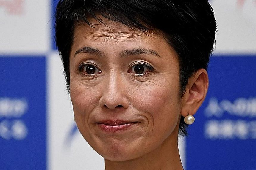 Ms Renho's resignation comes two days after her second-in- command Yoshihiko Noda quit.