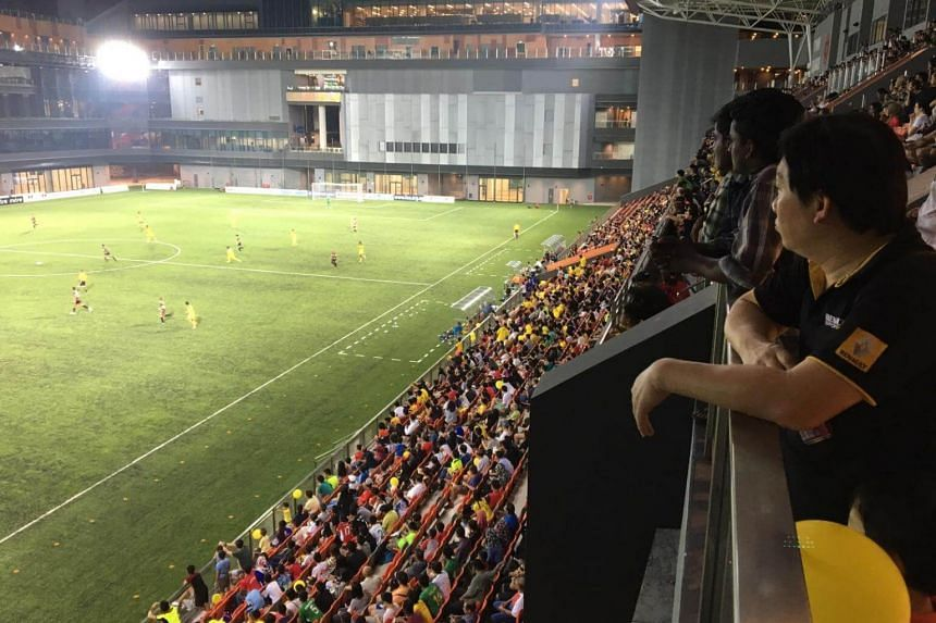 A crowd of 4,676 in the 5,000-capacity ground saw the Stags beat Brunei DPMM 2-0 with goals from defender Shakir Hamzah and playmaker Shahdan Sulaiman.