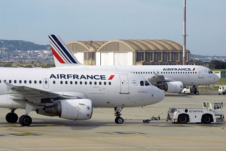 Air France has launched a probe after a passenger wound up in Athens instead of Copenhagen after a mix-up.