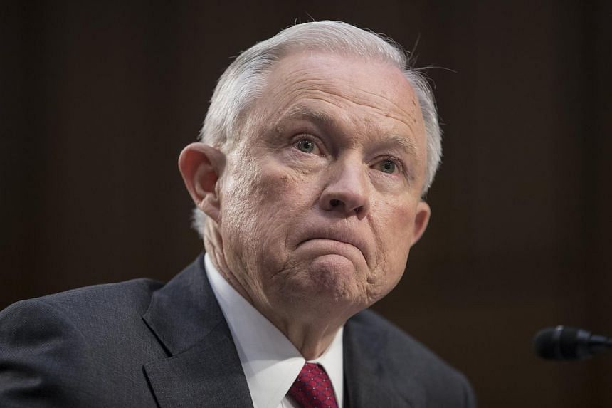 Jeff Sessions appears before the Senate Intelligence Committee on the FBI's investigation into the Trump administration.