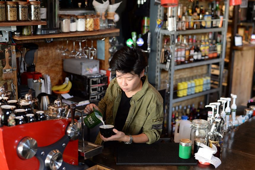 Abbyshayne Lim is the co-owner of Symmetry restaurant and bar.