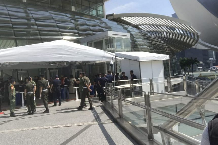 Extra security measures were implemented at the preview show on July 29.
