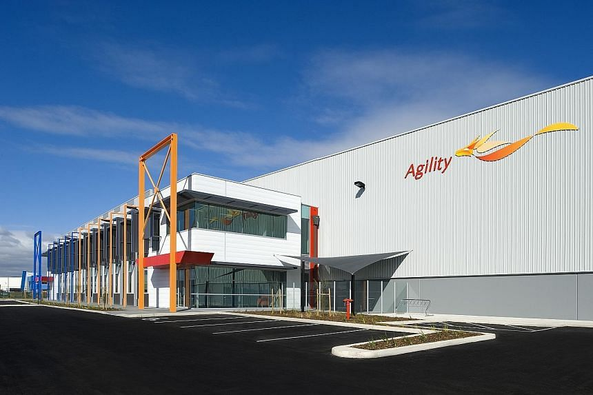 A property in Australia from Frasers Logistics & Industrial Trust's portfolio. It said demand for its facilities has been strong.