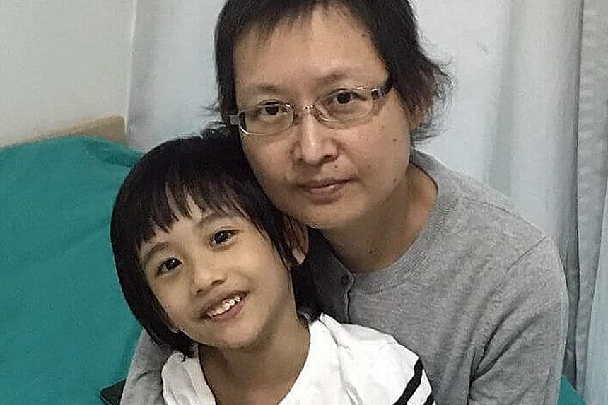 """Ms Tam Chek Ming raised funds by making crowdfunding appeals, saying she had to fight her cancer to stay alive for a few more years for her five-year-old son's sake. The National University Cancer Institute said it was assessed that she """"no longer ne"""