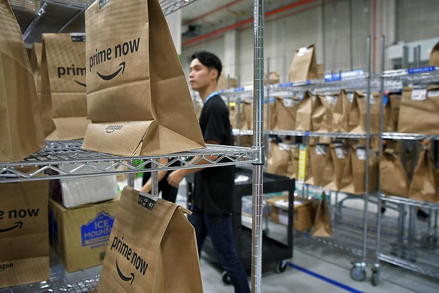 Amazon is offering a curated selection of 20,000 products, for delivery islandwide within two hours.