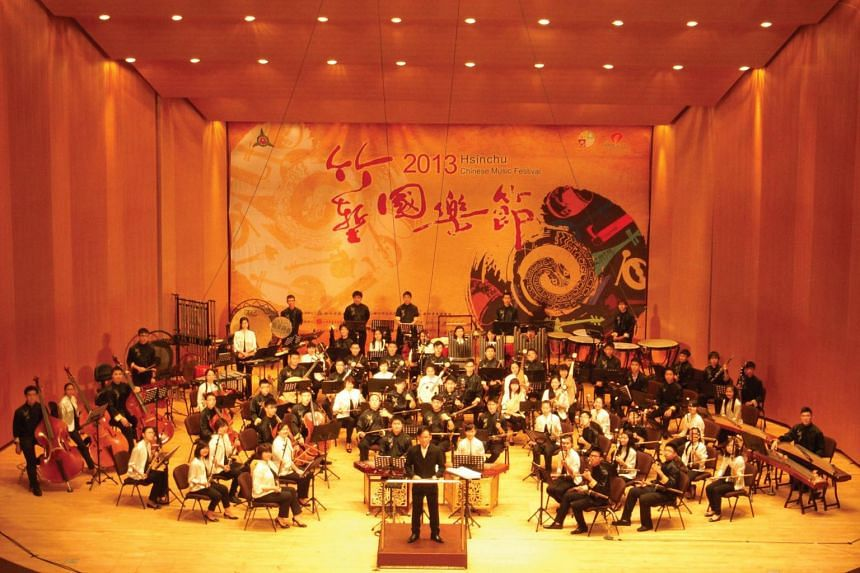 The Singapore National Youth Chinese Orchestra.