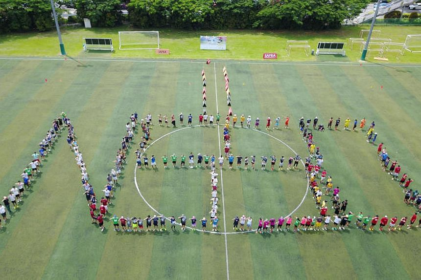 NSMen and their families can look forward to activities such as a picnic and a sports festival to celebrate NS50.