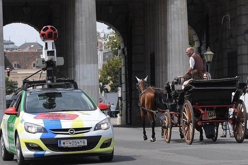 While a portfolio consisting of big names like Google (Google Street View car in Vienna, left) or Facebook may yield good returns, this yield could be higher if smaller firms with credible growth prospects were included, such as iRobot Corp, known fo