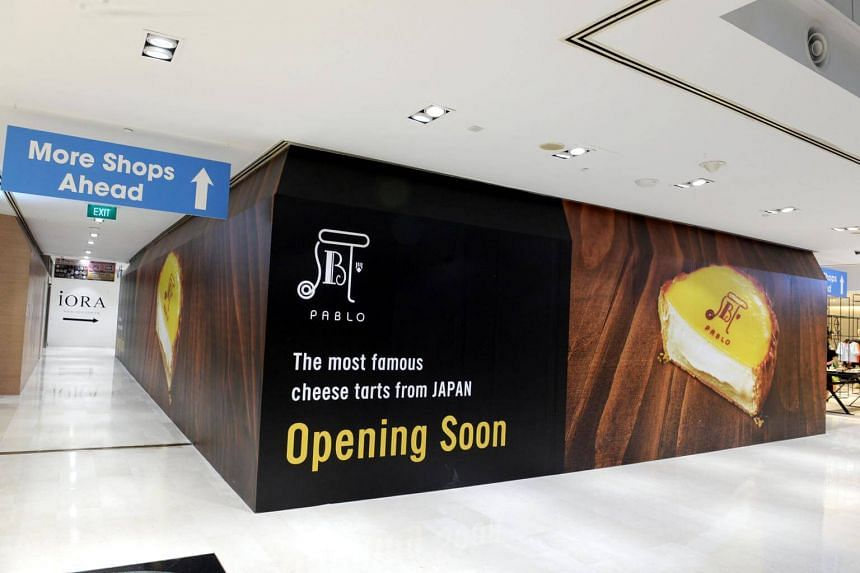 Pablo will open its first Singapore outlet in Wisma Atria next Tuesday (Aug 8).