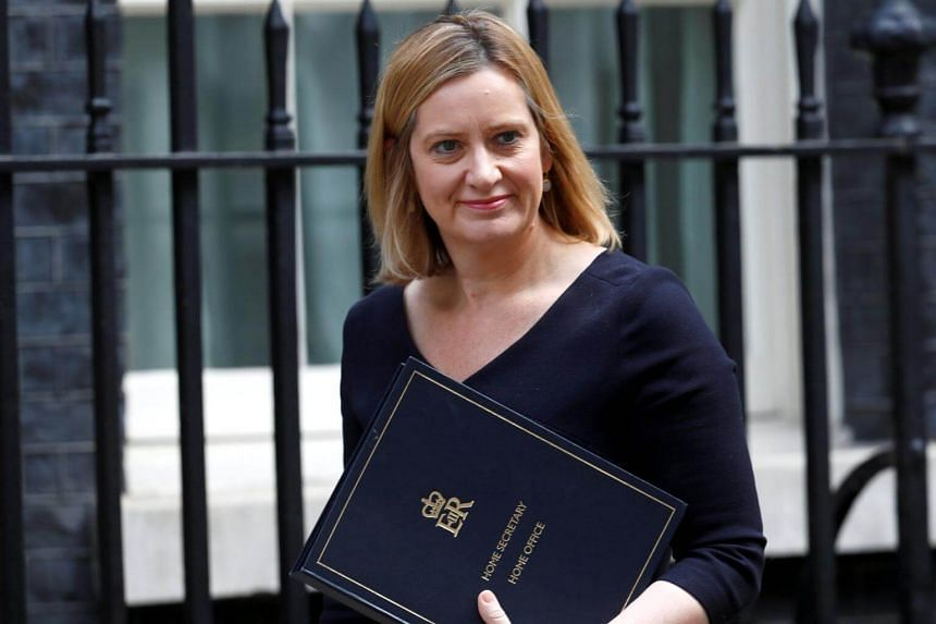 British Home Secretary Amber Rudd will be asking SIlicon Valley social media companies to tackle terror content.