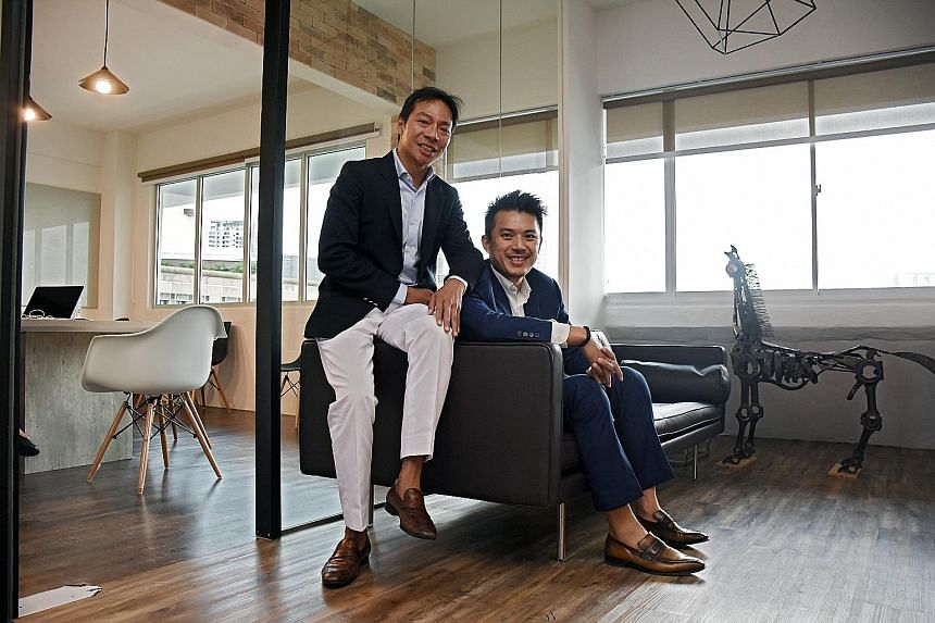 Mr Terence Loh (left) and Mr Nelson Loh co-founded Novena Global Lifecare Group in 2010. Group turnover last year was $67.8 million, about half of which came from the Chinese market - with South-east Asia, led by Singapore, making up the remainder. T