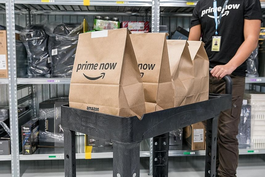 Disappointing results from Amazon last week had tech stocks beating a retreat far beyond US shores. The online retail giant launched Prime Now, its two-hour delivery service, in Singapore last Thursday.