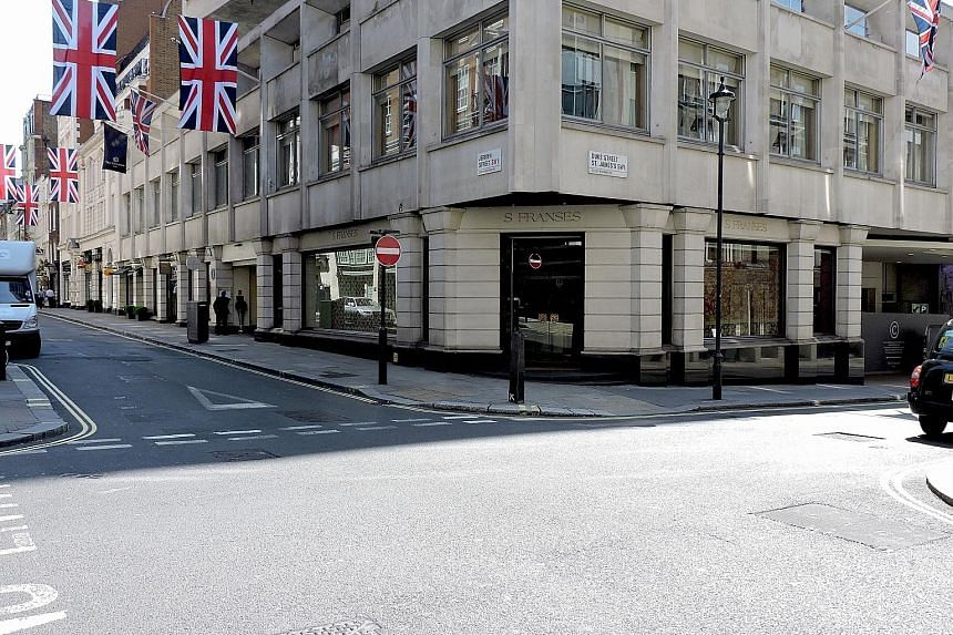 S Franses, a London art gallery specialising in antique textiles, has been at The Cavendish hotel in Jermyn Street for the last 25 years. CapitaLand, which owns the hotel, wanted to redevelop the space into two retail shops.