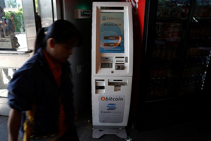 A bitcoin ATM in the Manhattan borough of New York. Bitcoins suffered a major setback in 2014 following the collapse of Mt Gox, formerly one of the world's biggest bitcoin exchanges. Mt Gox was also hit with a slew of lawsuits in the United States by