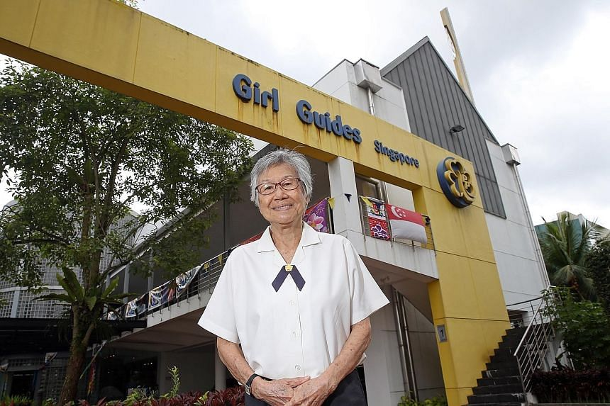 Madam Chan Siok Fong hopes that, going forward, there will still be girls who choose guiding and are willing to spend time volunteering in the service of others, especially when they have a wide variety of co-curricular activities to choose from.
