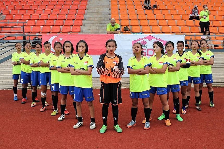 The team at the semi-finals on July 6 in Chengdu.
