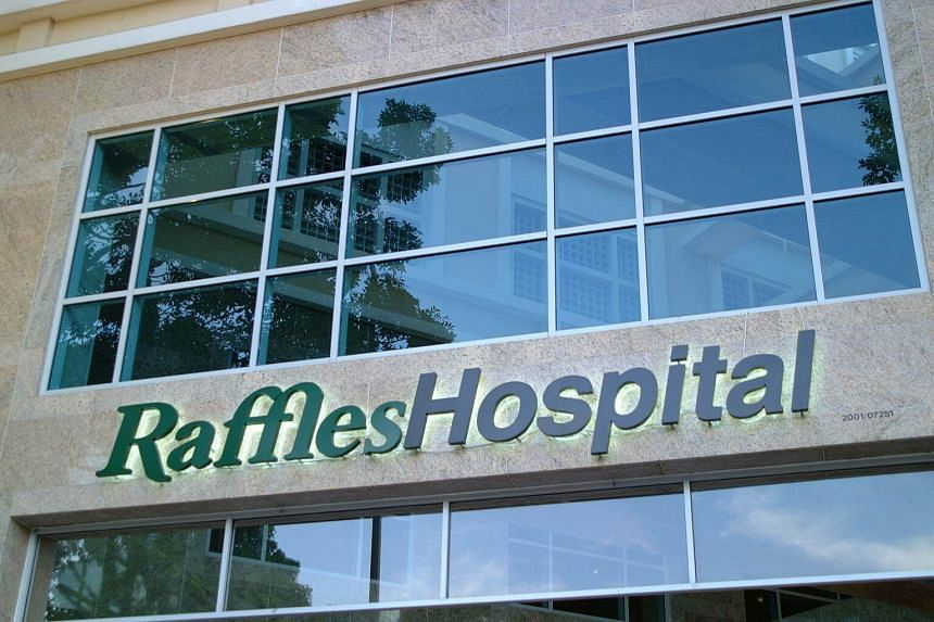 Raffles Medical Group's Hospital Services division saw revenue inch up 0.3 per cent while the revenue of its Healthcare Services division declined by 1.1 per cent.