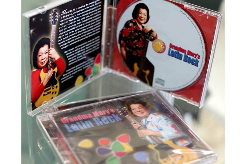 Grandma Ho's 2008 CD album, Grandma Mary's Latin Rock.