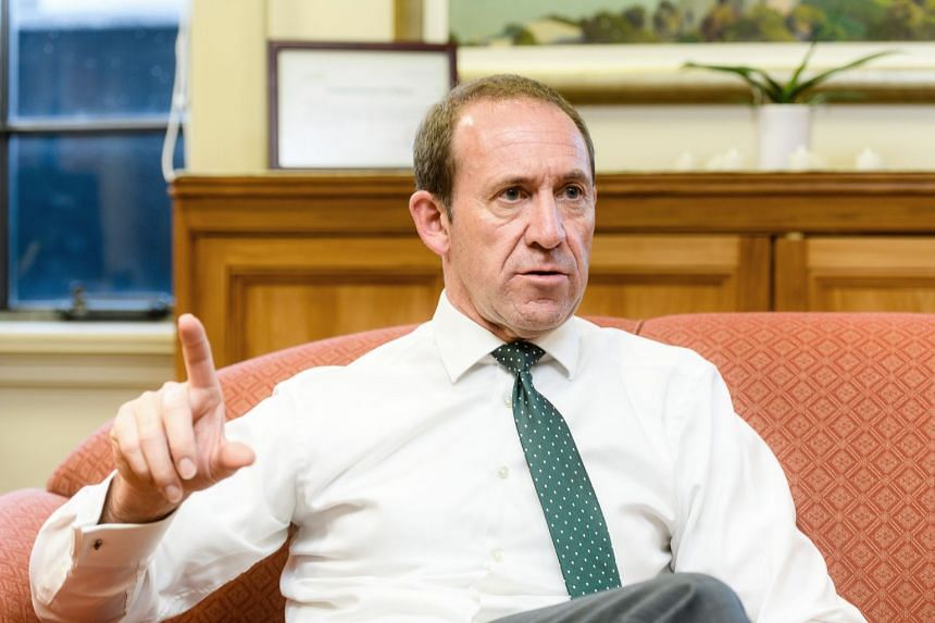 Mr Andrew Little, leader of the New Zealand Labour Party, speaks during an interview in his office, on July 21, 2017.