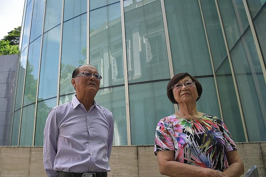 Dr Lim Whye Geok and Mrs Leow Oon Geok are two of Mr Lim Bo Seng's seven children. Mr Lim's diary will go on display at an exhibition next month.