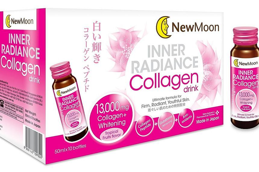 New Moon Inner Radiance Collagen Drink.