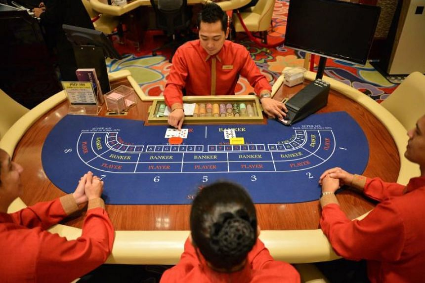 A view of the gaming floor at the MGM National Harbour in Washington on opening night in December.
