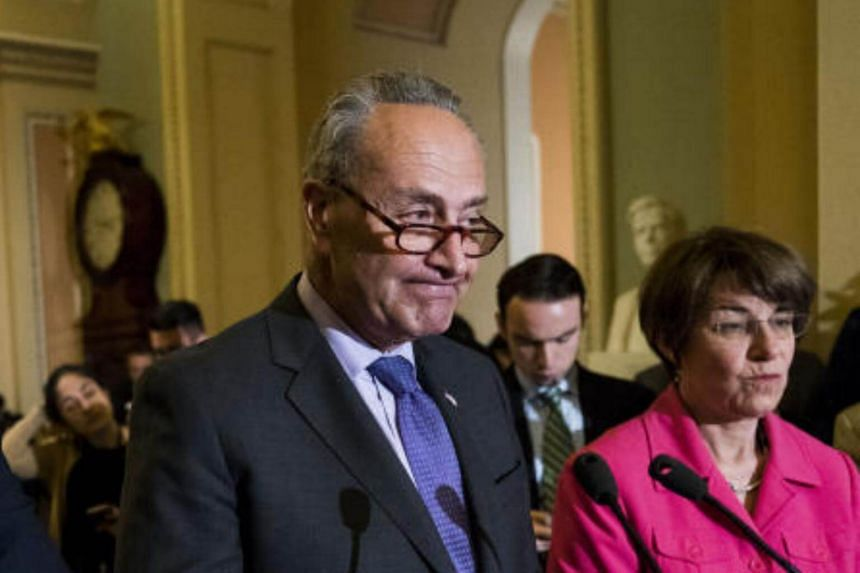 US Senate Democratic leader Chuck Schumer called on the president to use his authority to block Chinese investments in the United States.