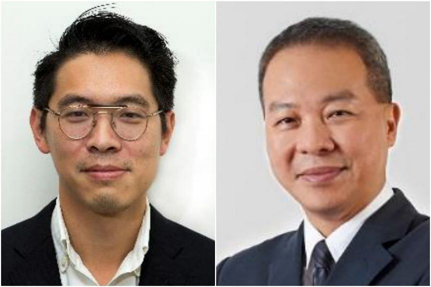 Mr Chng Kai Fong (left) will head the EDB with effect from Oct 1 while Mr Ng Lang will take over at JTC with effect from Sept 1.