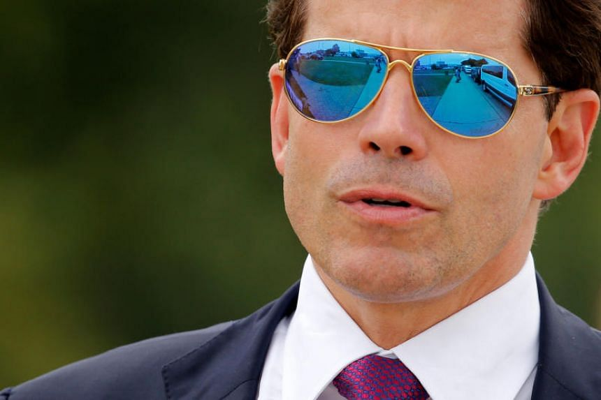 Anthony Scaramucci arrives for an event in New York on July 28, 2017,