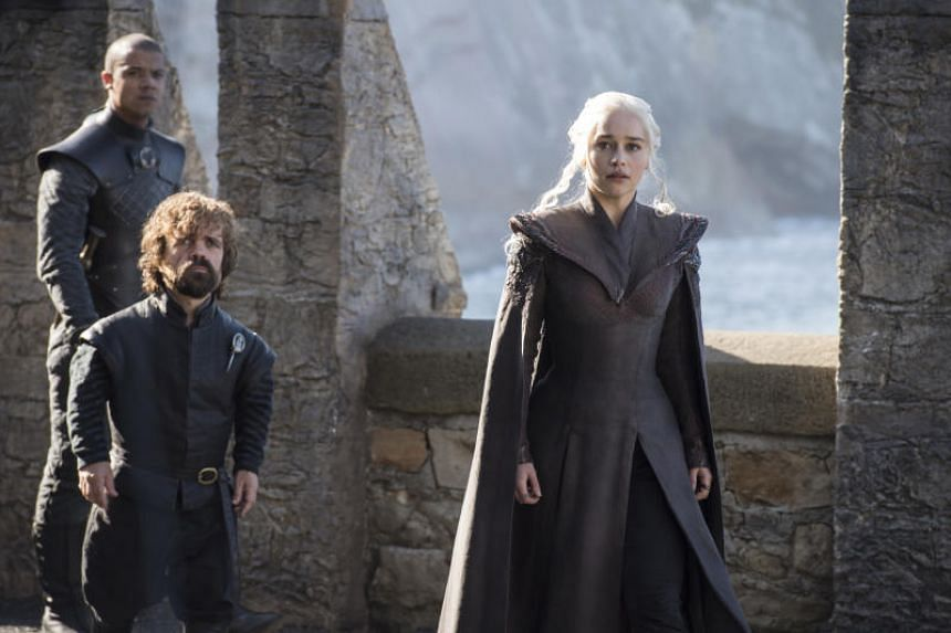 Danys and Tyrion join forces in the new season of Game of Thrones.