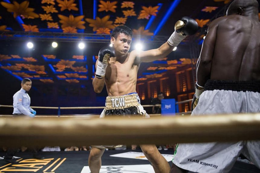 Muhamad Ridhwan, Singapore's first-ever boxing world champion, will head to Las Vegas next Monday for a 26-day training stint at the Mayweather Boxing Club.