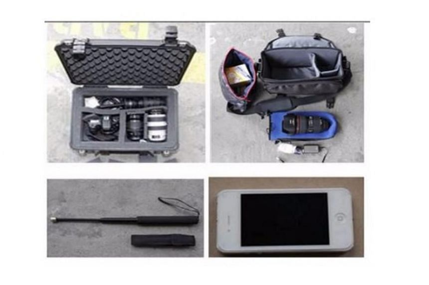A 25-year-old man and a 20-year-old woman were arrested last Wednesday (July 26) for cheating victims into renting them their cameras and accessories, only to put them for sale online.