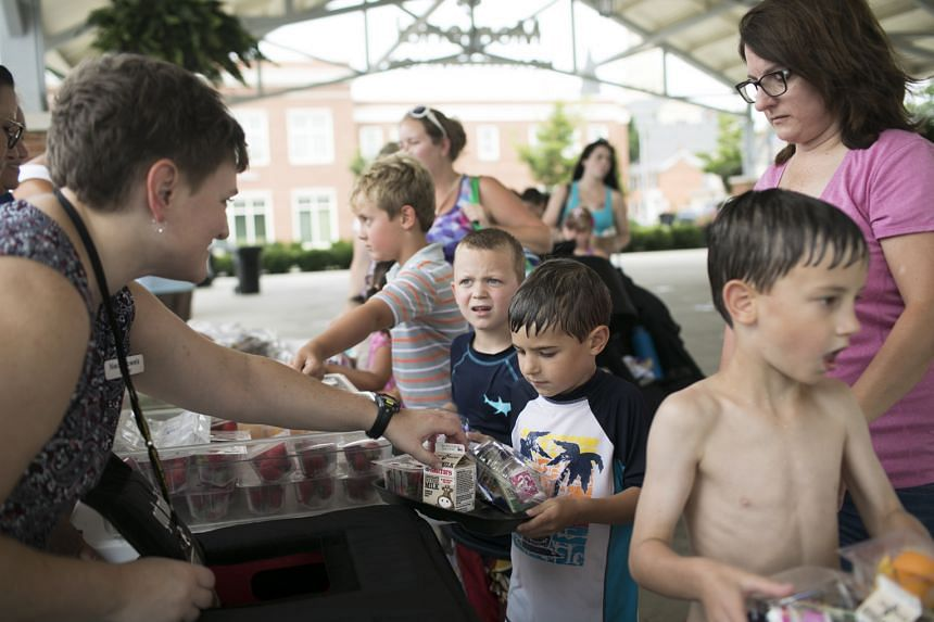 Libraries have been serving federally funded summer meals to ensure children do not go hungry.