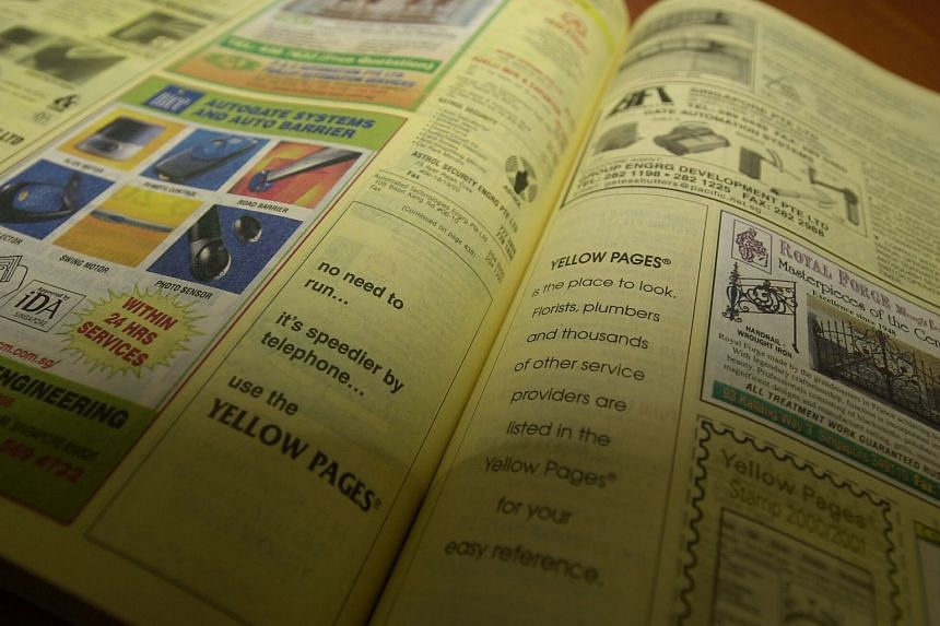 Global Yellow Pages said that they are no longer able to sustain the print directories as more users take to online platforms to search for information.