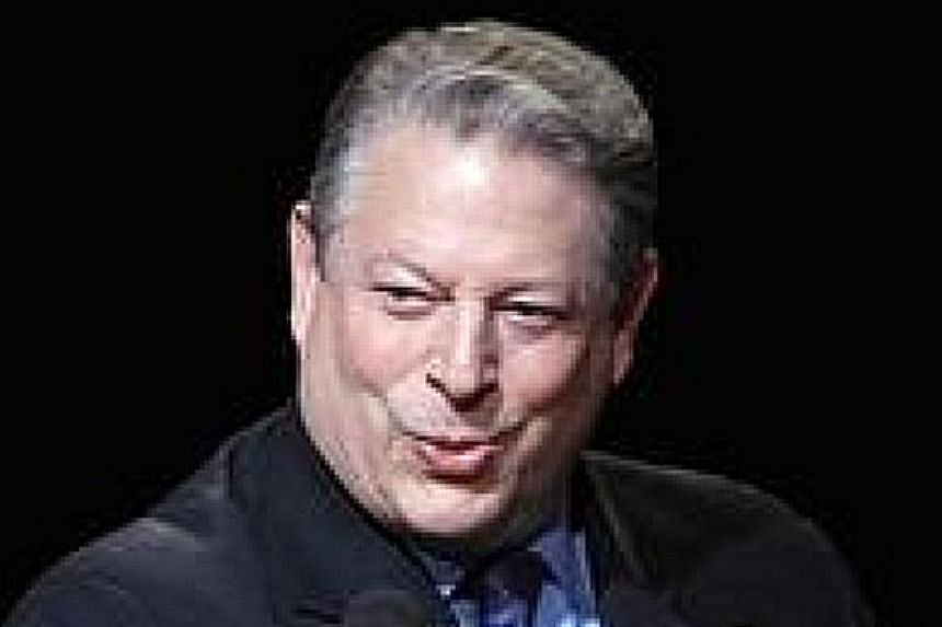 Former United States vice-president Al Gore.
