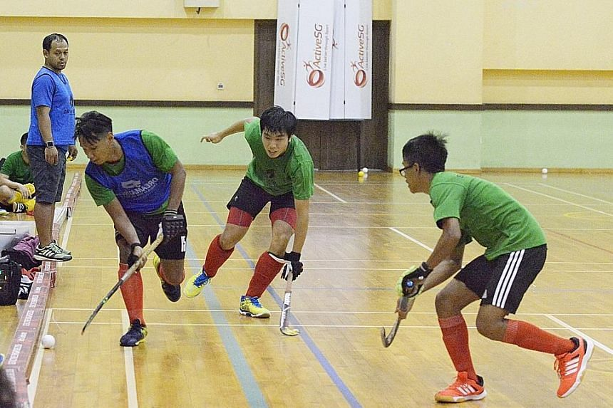 The Singapore Hockey Federation plans to run an indoor league and is also in talks with regional countries to stage an indoor South-east Asian Cup.