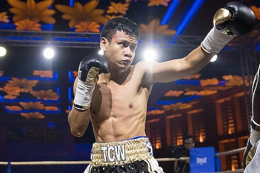 Singapore's Muhamad Ridhwan is relishing the prospect of twice-daily training sessions during his Aug 7-28 stint at the prestigious Mayweather Boxing Club in Las Vegas.