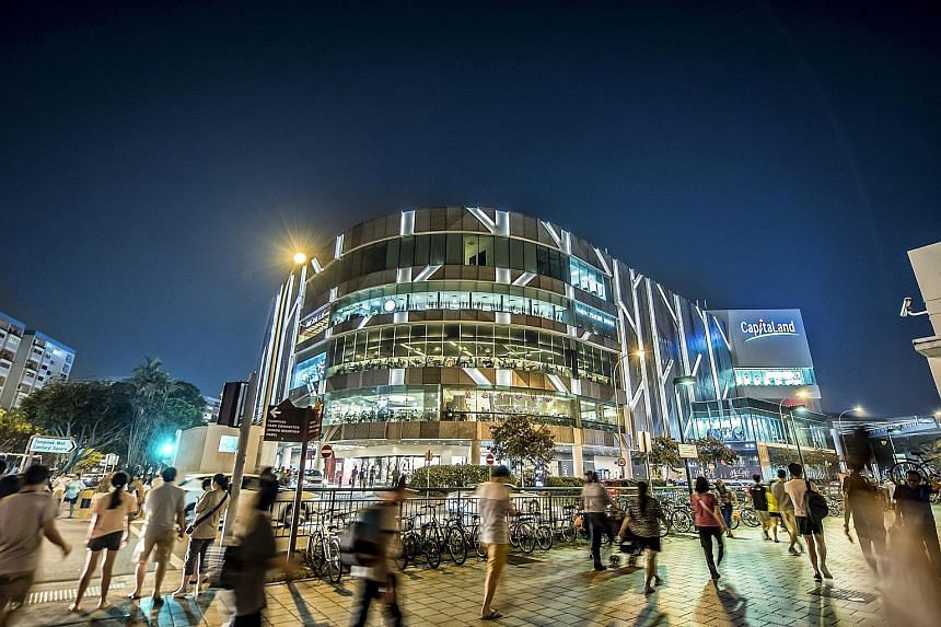 CapitaLand Mall Trust, whose portfolio includes Tampines Mall, topped the Reits and business trusts category.