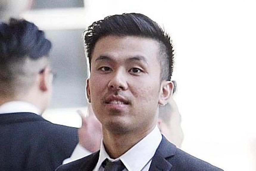 Tam Thanh Khong (above), Michael Le (below) and Vu Thai Son were seen on CCTV footage entering and leaving the room where the rapes allegedly occurred.