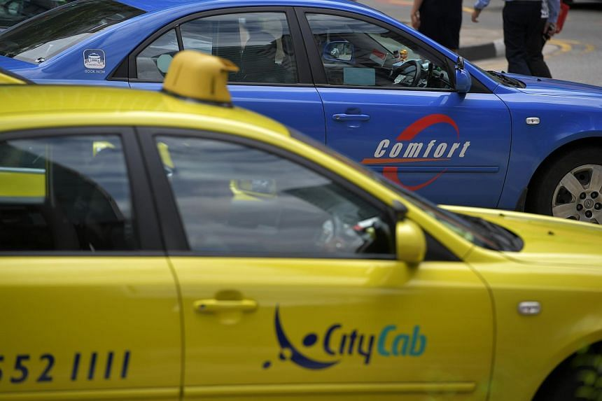Taxis and private-hire cars are meant to carry passengers for hire and reward, and cannot be used solely for the conveyance of goods, said LTA.