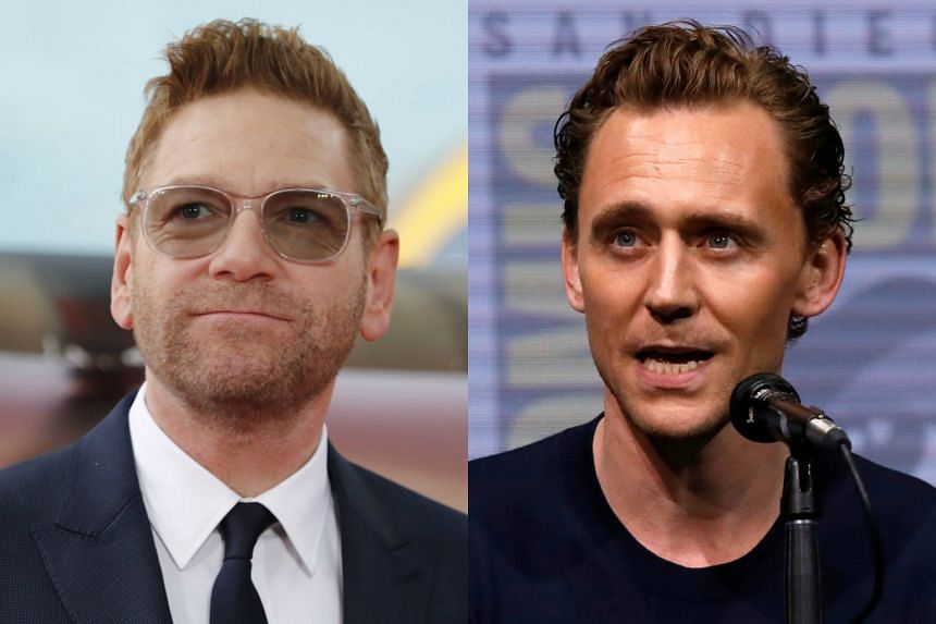 Tom Hiddleston (right) will star in a new production of Hamlet, directed by Kenneth Branagh.
