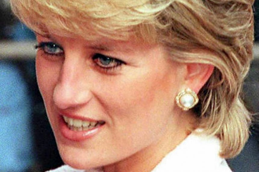 Princess Diana in London, in this file photo dated March 6, 1996.
