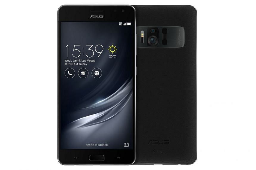 Viewed from the front, the Asus ZenFone AR looks like any regular phablet. The one distinguishing feature is its larger-than-usual camera bump on its back, which houses the camera and sensors necessary for Tango.