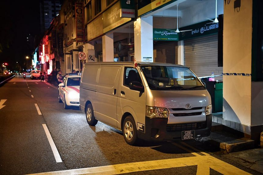 The incident, which happened at 12.40am, saw several police cars and motorbikes pursuing the man, who was driving a van.