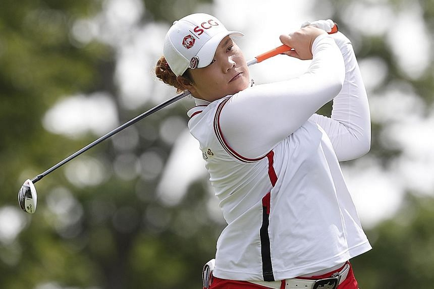 World No. 3 Ariya Jutanugarn will leave her driver out of the bag at this week's British Open, and will tee off with a three-wood or two-iron.