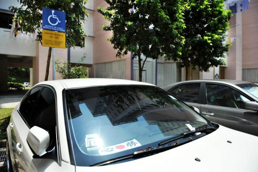 Under the new criteria, only people with disabilities who use wheelchair, walking frames or lower-limb prostheses will be eligible for the Car Park Label Scheme.