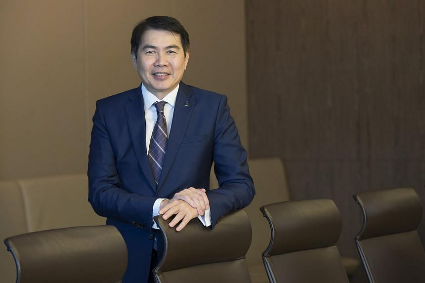 Mr Lim Ming Yan, Chief Executive Officer of CapitaLand.