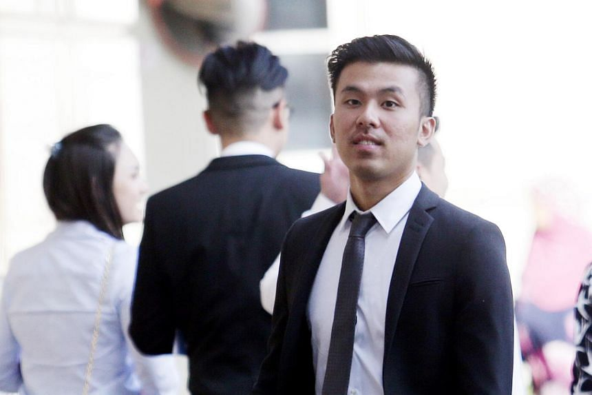 Khong Tam Thanh (pictured) is accused of raping a woman along with two others at the Carlton Hotel on Sept 10, 2016.
