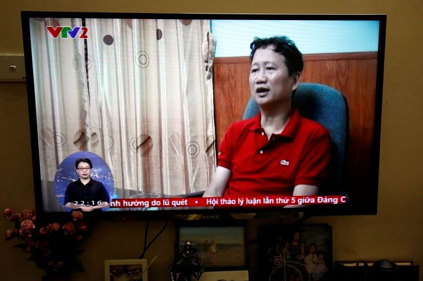 Vietnam TV shows oil executive who Germany says was abducted