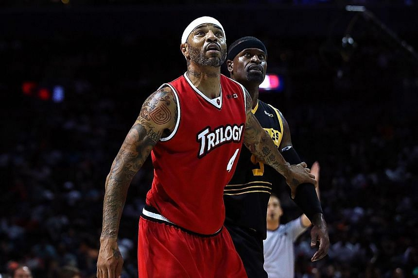 The new findings could have implications for sportsmen like basketball players Kenyon Martin (in red) and Stephen Jackson, who have tattooed their skin. But, it is unlikely that tattoos would impede sweating enough to cause bodies to overheat or othe